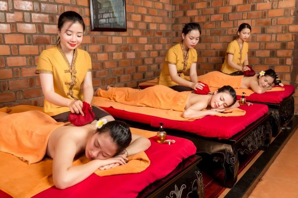 massage tại chamspa