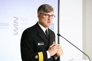Ông Mitchell Wolfe, Chuyên gia Y tế trưởng, Văn phòng Giám đốc Trung tâm phòng ngừa và kiểm soát dịch bệnh Mỹ (CDC). Ảnh: ĐSQ Việt Nam tại Mỹ.