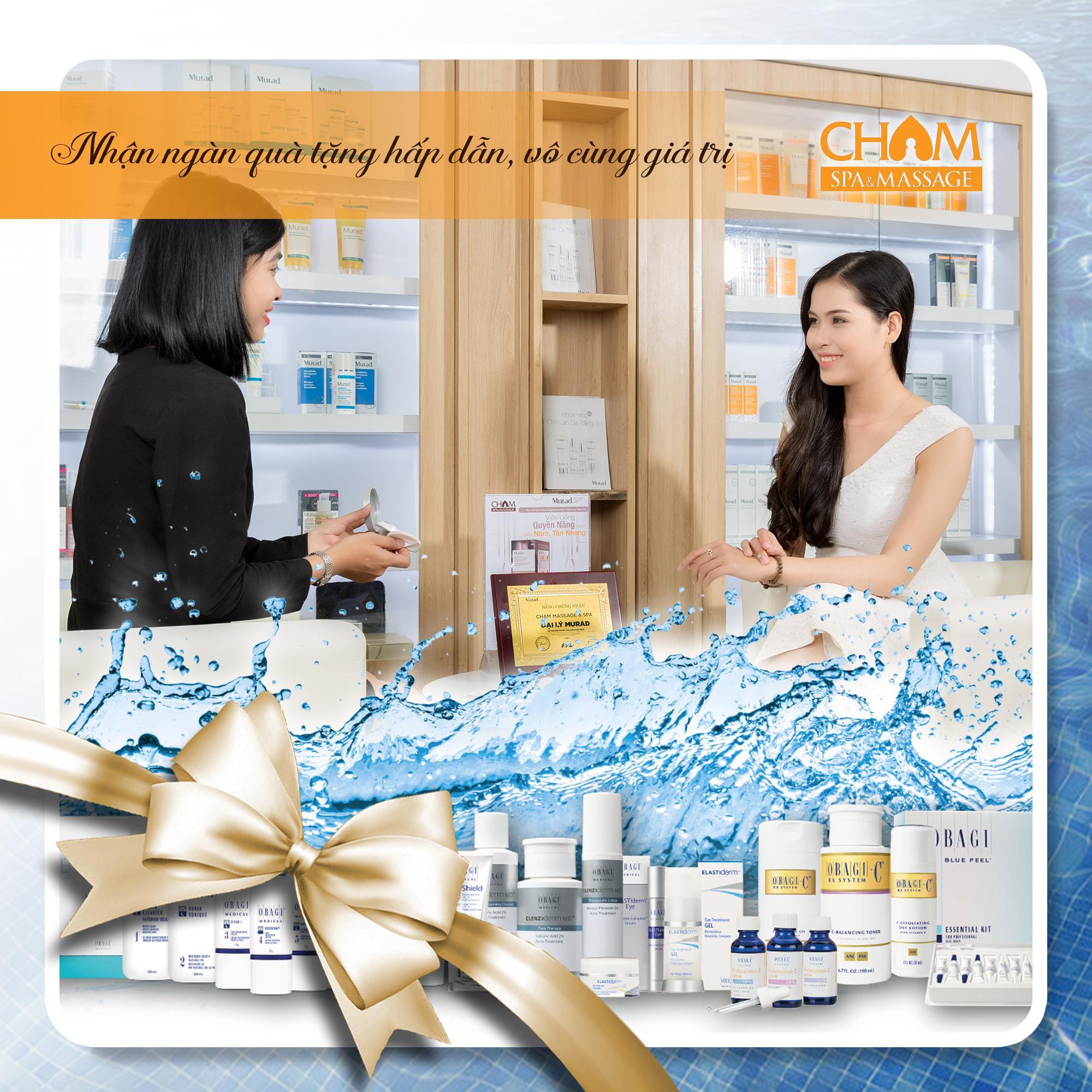 Khuyến mãi Voucher sức khỏe Cham Spa & Massage