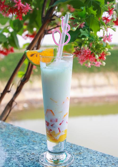 Thưởng thức nước uống hấp dẫn tại Nhà hàng Cham